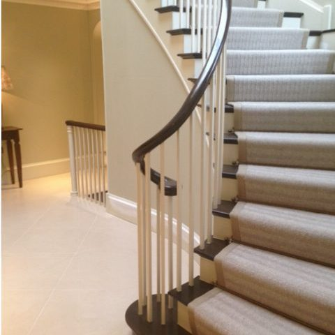 Staircase designed and built by the Lakeland Building Group