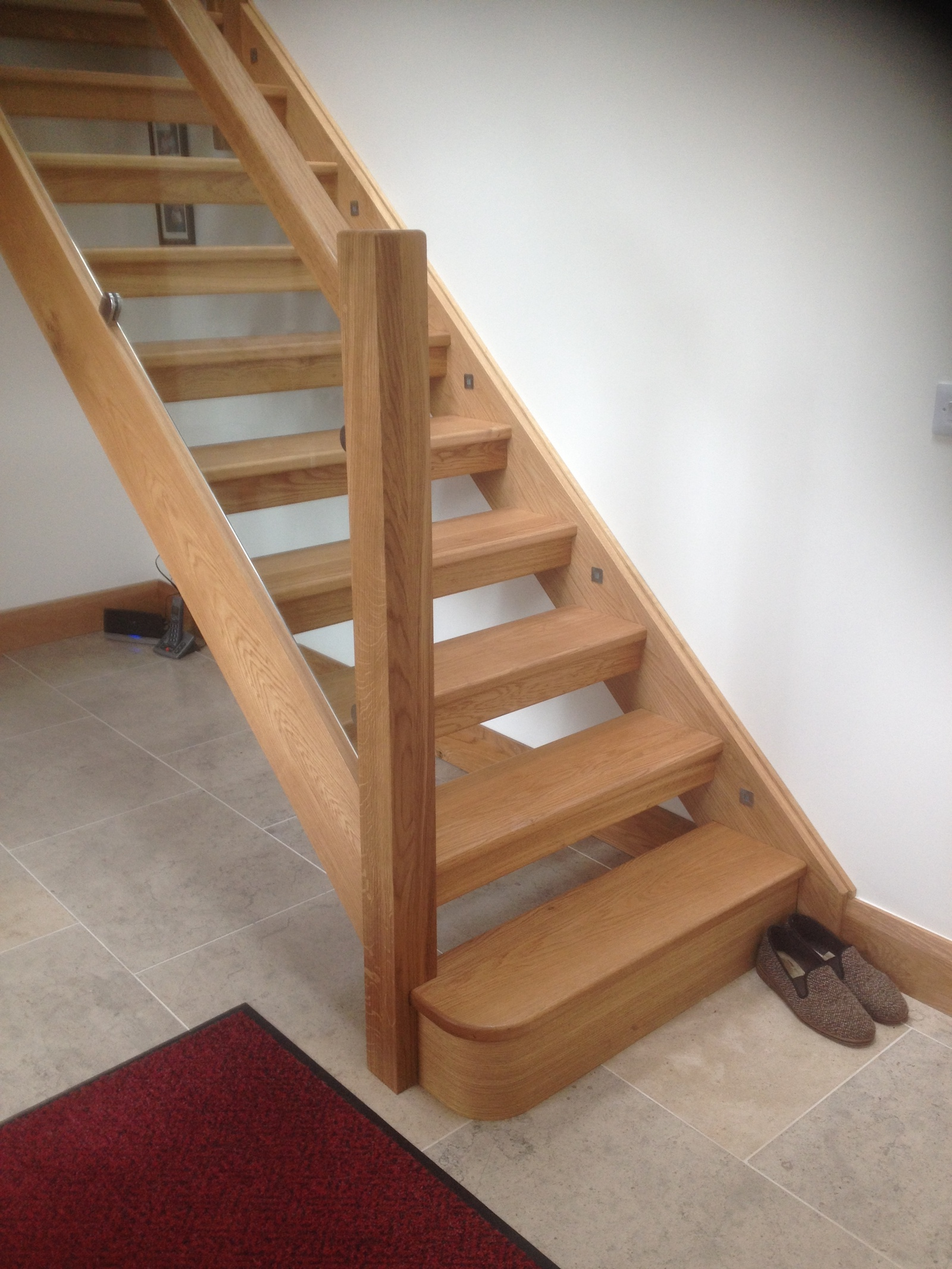 Stair manufacture by Lakeland Building Group
